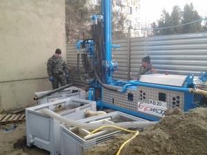 бурение под зонды для геотермальных тепловых насосов